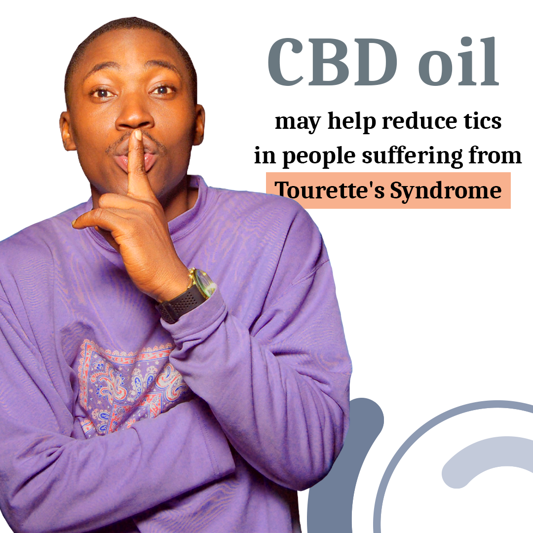 CBD oil can help reduce tics