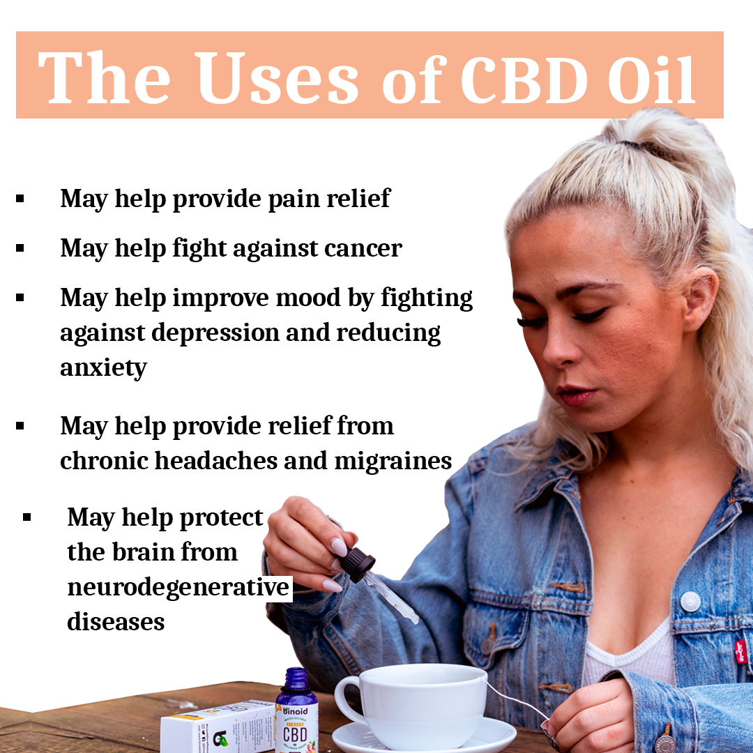 Uses of CBD oil