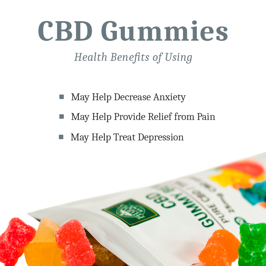 Health Benefits of CBD gummies